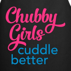 Chubby Girls Cuddle Better T-shirts - Forklæde
