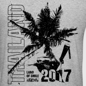 Thailand 2017 Sweatshirts - Herre Slim Fit T-Shirt
