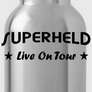 Superheld live T-Shirts - Trinkflasche