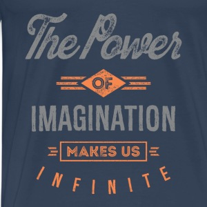 The Power. Inspirational Art - Men's Premium T-Shirt
