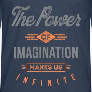The Power. Inspirational Art - Men's Premium Longsleeve Shirt