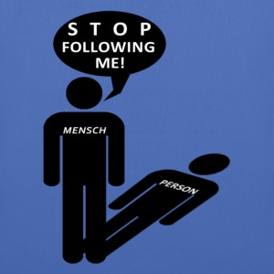 Mensch-Person Pullover & Hoodies - Stoffbeutel