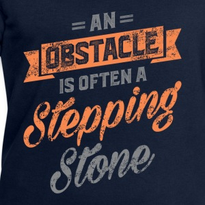 An Obstacle. Inspirational Art - Men's Sweatshirt by Stanley & Stella