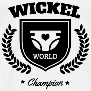 Wickel World Champion Body neonato - Maglietta Premium da uomo