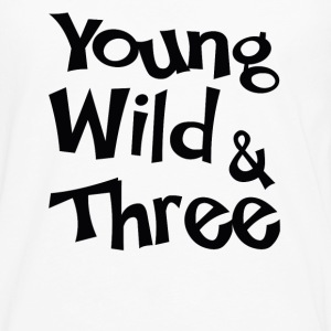 Young Wild & Three T-Shirts - Men's Premium Longsleeve Shirt