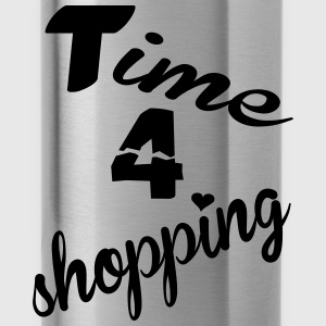 Time 4 shopping T-Shirts - Trinkflasche