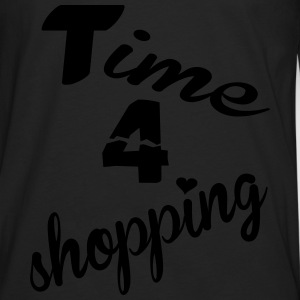 Time 4 shopping T-Shirts - Männer Premium Langarmshirt