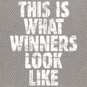 This is what winners look like T-Shirts - Snapback Cap