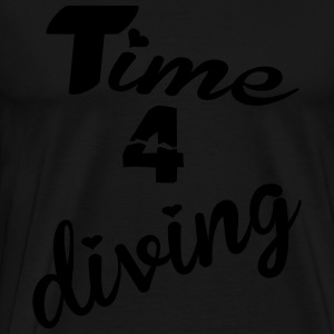 Time 4 diving Tops - Männer Premium T-Shirt