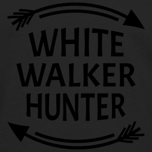 White walker hunter Sweaters - Mannen Premium shirt met lange mouwen