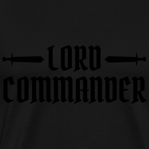 Lord Commander Sweaters - Mannen Premium T-shirt