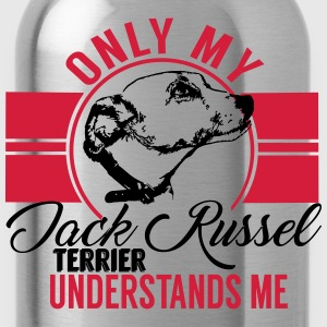 Only my Jack Russel Terrier  T-Shirts - Water Bottle