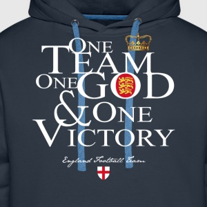 One Team England - Sweat-shirt à capuche Premium pour hommes