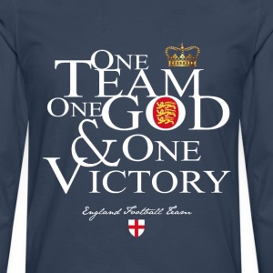 One Team England - T-shirt manches longues Premium Homme