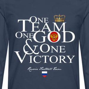 One Team One God Russia - T-shirt manches longues Premium Homme