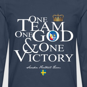 One Team One God Sweden - T-shirt manches longues Premium Homme