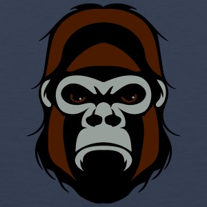 Gorilla agro head T-Shirts - Men's Premium Tank Top