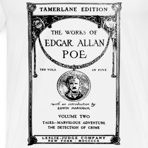 poe book cover Other - Men's Premium T-Shirt