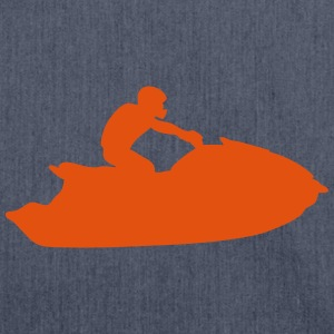 jetski freestyle 4 T-Shirts - Schultertasche aus Recycling-Material