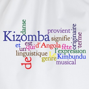 Kizomba definition Tee shirts - Sac de sport léger