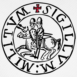 Templar knights seal - Baseball Cap