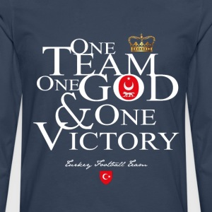 One Team One God Turkey - T-shirt manches longues Premium Homme