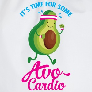 It\\\'s Time For Some Avo Cardio T-Shirts - Drawstring Bag