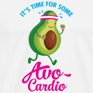 It\\\'s Time For Some Avo Cardio T-Shirts - Men's Premium T-Shirt