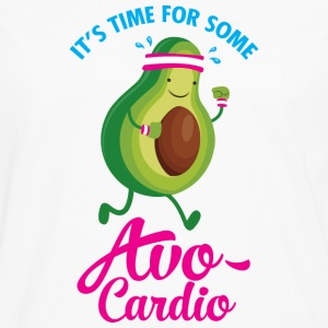 It\\\'s Time For Some Avo Cardio T-Shirts - Men's Premium Longsleeve Shirt