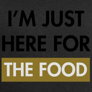 I'm just here for the food T-Shirts - Men's Sweatshirt by Stanley & Stella