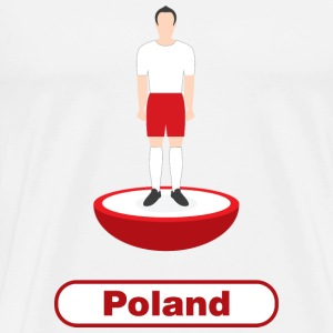 Poland Football - Men's Premium T-Shirt