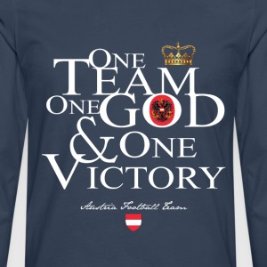 One Team One God Austria - T-shirt manches longues Premium Homme