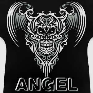 Winged Skull Type Pullover & Hoodies - Baby T-Shirt