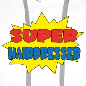 Super hairdresser T-Shirts - Men's Premium Hoodie