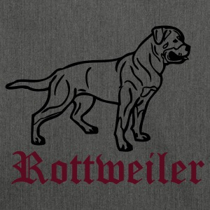 www.dog-power.nl - Schultertasche aus Recycling-Material