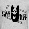 Talk shit - get bit - Men's T-Shirt
