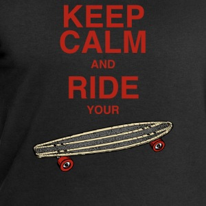 Tanktop Keep calm and ride your board - Männer Sweatshirt von Stanley & Stella