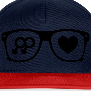 glasses gay Tee shirts - Casquette snapback