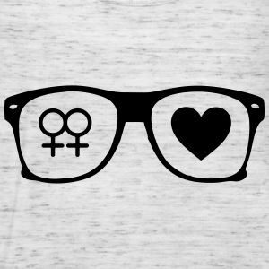 glasses lesbian T-Shirts - Women's Tank Top by Bella
