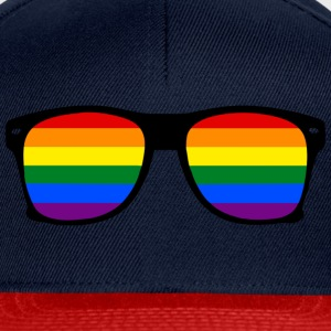 glasses rainbow Tee shirts - Casquette snapback