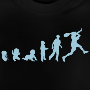 evolution squash schlaeger 1 T-Shirts - Baby T-Shirt