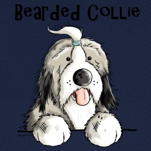 Sweet Bearded Collie T-Shirts - Baseball Cap