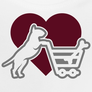 Shopping Bullterrier LOVE 2c T-Shirts - Baby T-Shirt