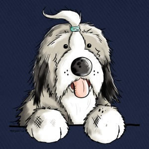 Happy Bearded Collie T-Shirts - Baseball Cap