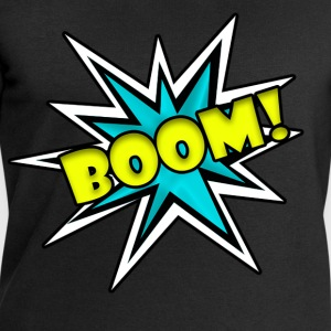 Comic Book Boom Tshirt  - Men's Sweatshirt by Stanley & Stella