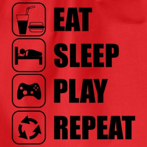 Eat Sleep Play Repeat Sportkleding - Gymtas