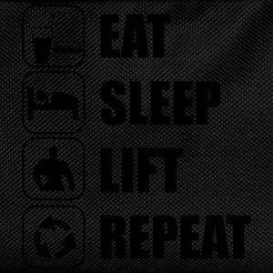 Eat Sleep Lift Repeat T-Shirts - Kinder Rucksack