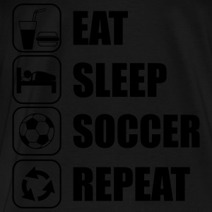 Eat Sleep Soccer Repeat Sports wear - Men's Premium T-Shirt