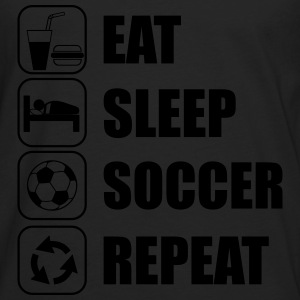 Eat Sleep Soccer Repeat Sports wear - Men's Premium Longsleeve Shirt