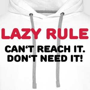 Lazy rule Sports wear - Men's Premium Hoodie